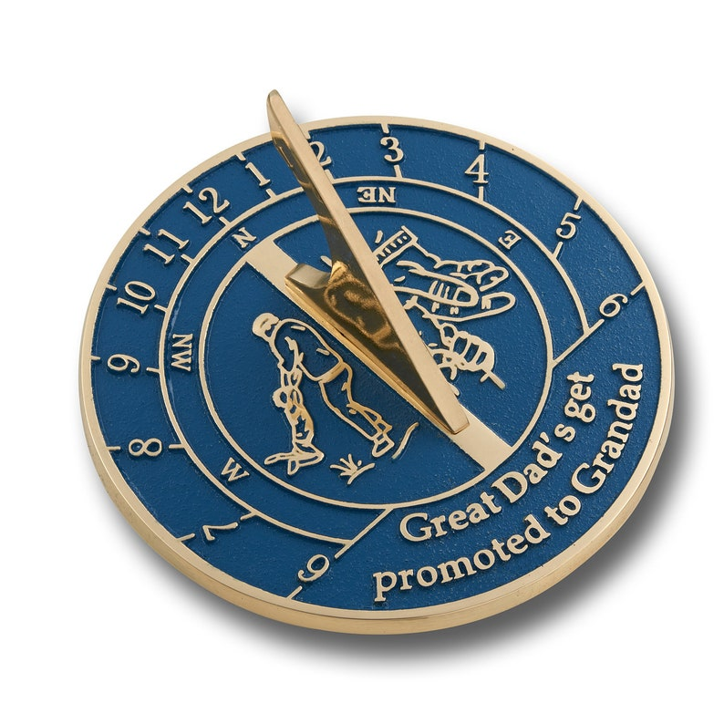 Dads Sundial Gift Special Birthday Or Fathers Day