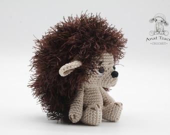 PATTERN : Small Hedgehog Amigurumi pattern pattern baby shower  Crochet Pattern  amigurumi  Hedgehog  Amigurumi Hedgehog