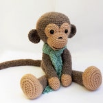 crochet PATTERN : Monkey  Amigurumi Monkey pattern  Crochet pattern-Knitted Stuffed animals- doll-toy-baby shower