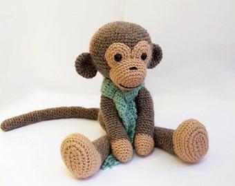 Amazon.com: Huggy Monkey Amigurumi Crochet Pattern (Big Huggy ... | 270x340