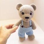 Crochet Bear PATTERN teddy - Amigurumi bear pattern-Bear - Classic Bear-Crochet - doll - toy - baby shower
