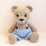 PATTERN : Bear-teddy -Amigurumi bear pattern-Bear -Classic Bear-Crochet - doll-toy - baby shower