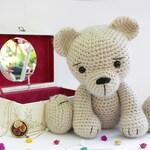 Crochet Bear teddy PATTERN - Amigurumi bear pattern - bear-classic bear-Crochet pattern-Knitted Stuffed animals- doll-toy-baby shower