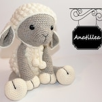 crochet lamb - PATTERN : Sheep - Amigurumi - Sheep - Amigurumi - Lamb - crochet sheep - crochet lamb - Knitted Stuffed animals- doll-toy