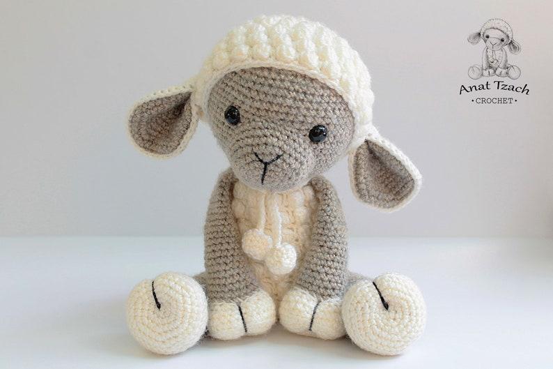 Amigurumi lamb  PATTERN : Sheep  Amigurumi  Sheep  image 0