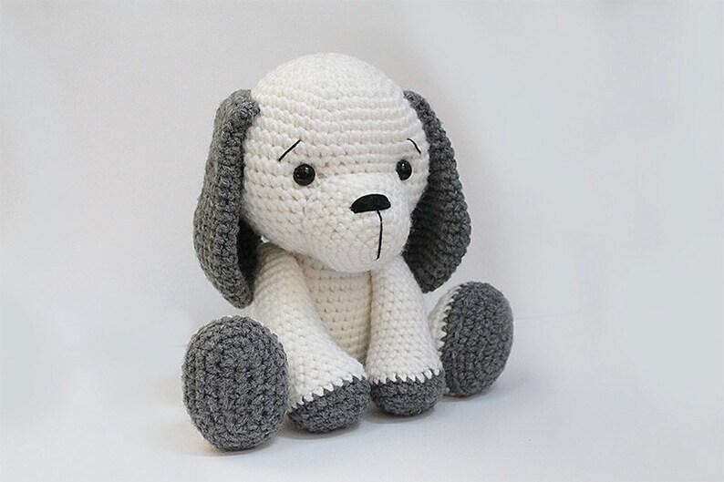 PATTERN : Dog  Puppy  Amigurumi dog pattern  Crochet image 0