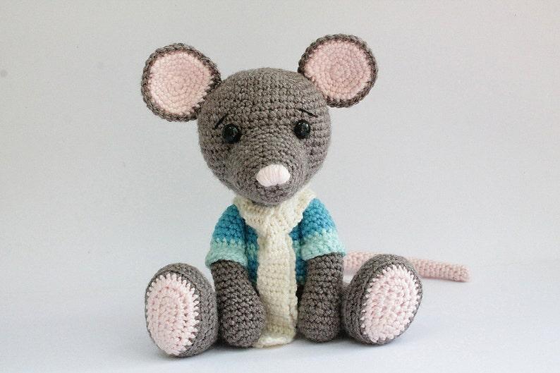 crochet PATTERN : Mouse Mice  Amigurumi Mouse pattern-Crochet image 0