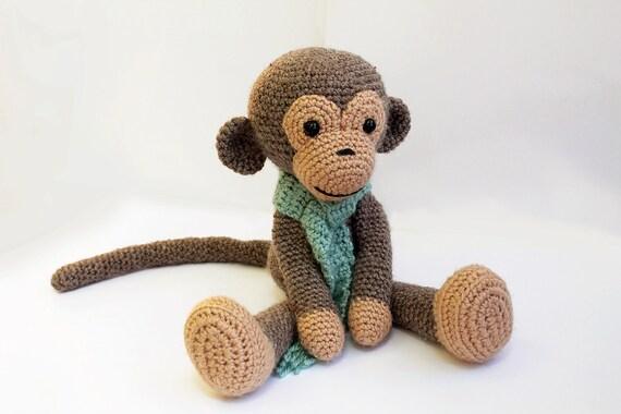 Crochet Pattern Monkey Amigurumi Monkey Pattern Crochet Etsy