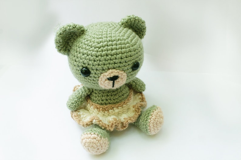 PATTERN : Bear-teddy bear-classic bear Amigurumi bear pattern image 0