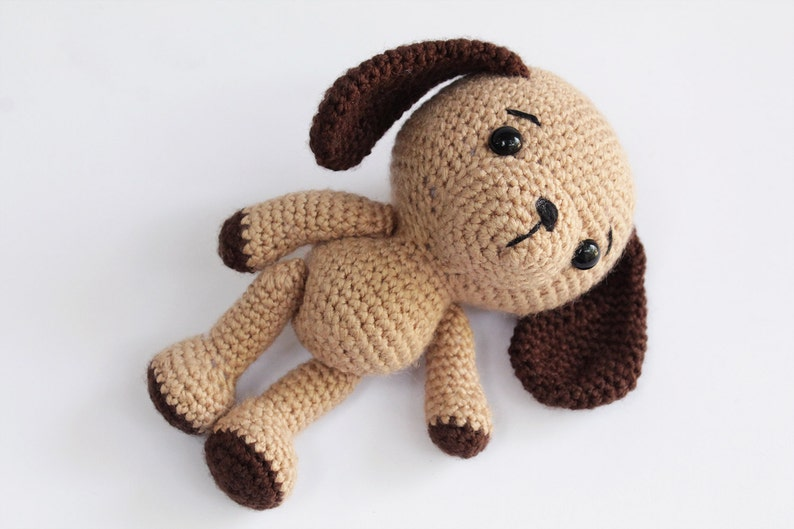 PATTERN : Dog  Puppy  Amigurumi dog pattern  Crochet image 0