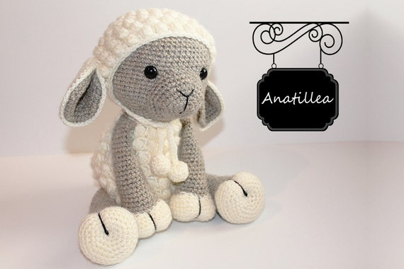 Free Pattern] The Most Adorable Little Lamb Amigurumi Toy Pattern ... | 380x570