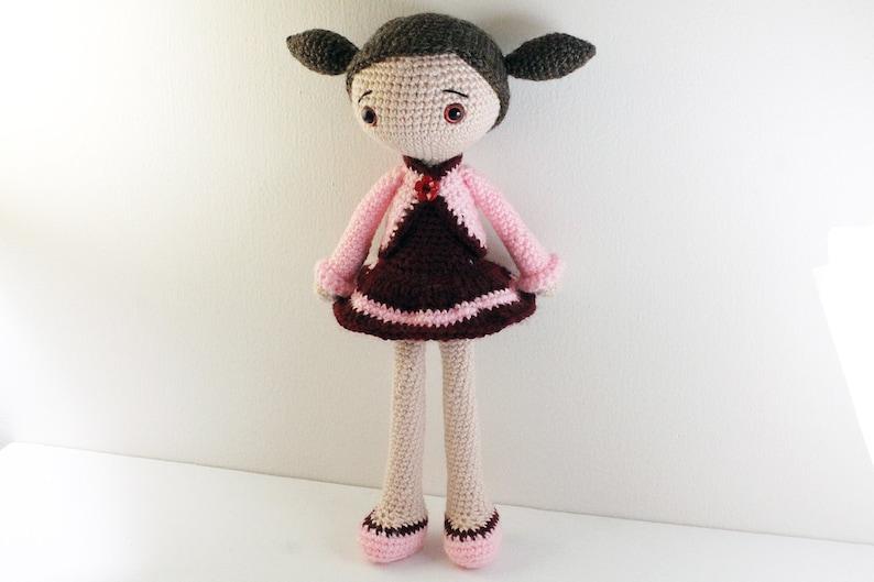 PATTERN : Doll  Crochet pattern  Amigurumi Doll pattern  image 0
