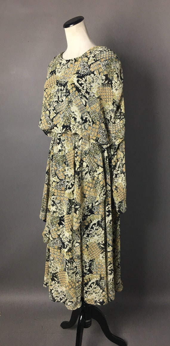 Vintage 80s does 20s dress / 1980s dress / 20s st… - image 6