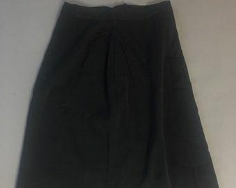 Vintage 50s skirt / 1950s skirt / A-line skirt / pencil skirt / day skirt / 8217