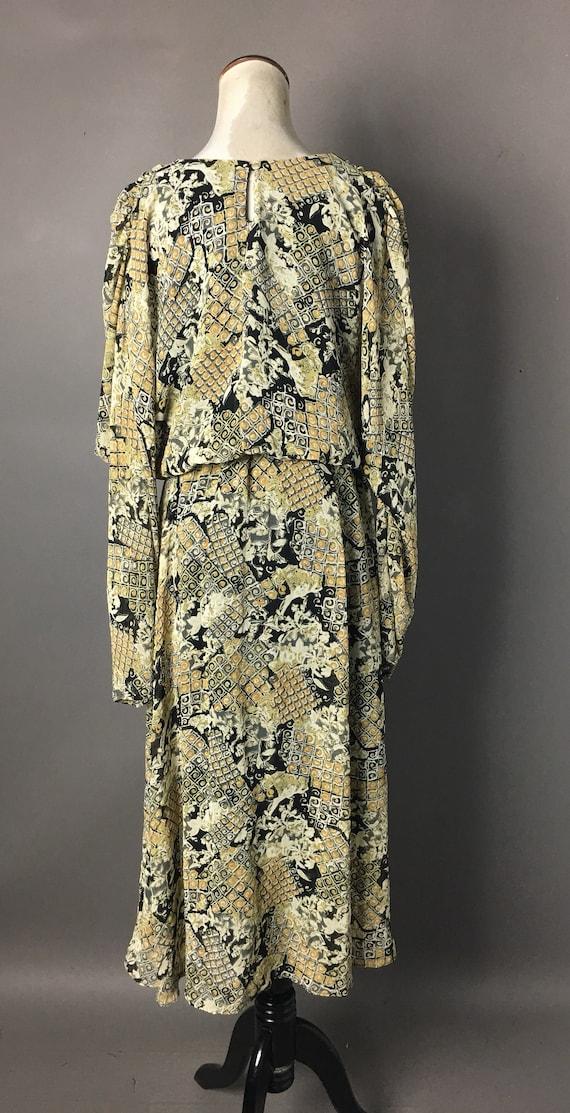 Vintage 80s does 20s dress / 1980s dress / 20s st… - image 7