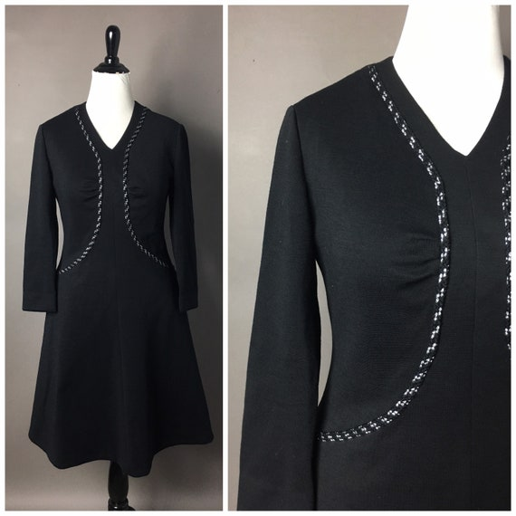 Vintage 60s dress / 1960s dress / volup plus size