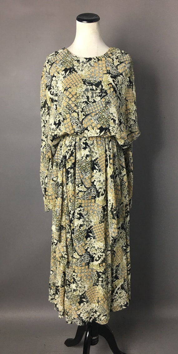 Vintage 80s does 20s dress / 1980s dress / 20s st… - image 4