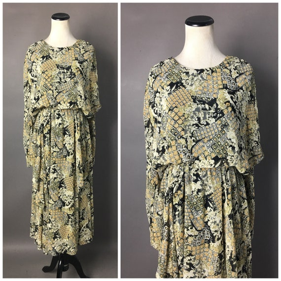 Vintage 80s does 20s dress / 1980s dress / 20s st… - image 1