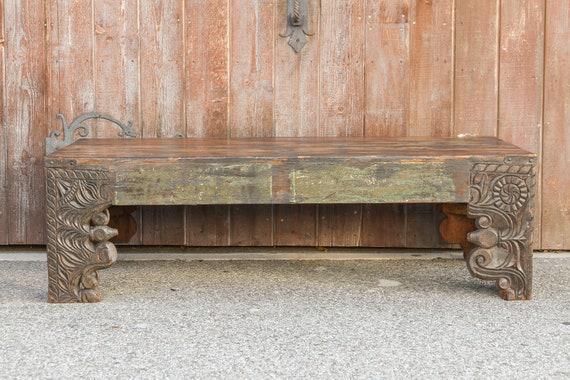 Fine Architectural Corbel Heritage Coffee Table Hand Carved Coffee Table Teak Coffee Table Antique Indian Table Vintage Carved Bohemian Table Spiritservingveterans Wood Chair Design Ideas Spiritservingveteransorg