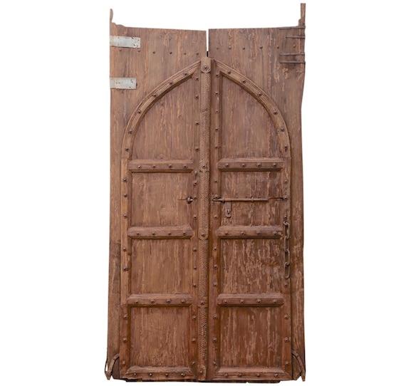 image 0 - Pair Of Imposing Spanish Colonial Doors Wood Door Antique Etsy
