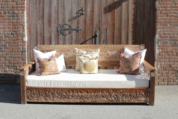 Wooden Daybed Bench
