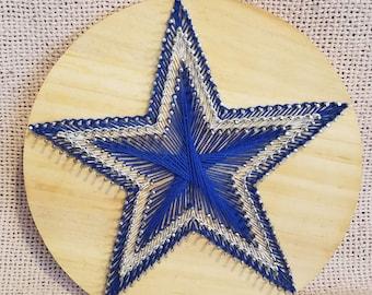 Cowboys star string art 4fbe9c96e
