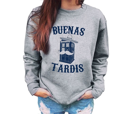 Buenas TARDIS Mexican Theme Unisex Sweatshirt