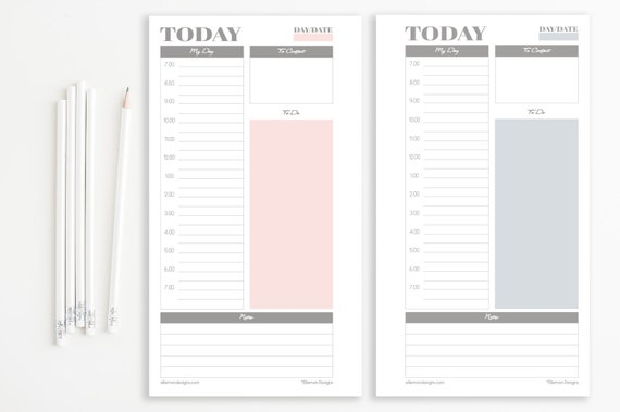filofax personal daily planner soft pastel coco collection etsy