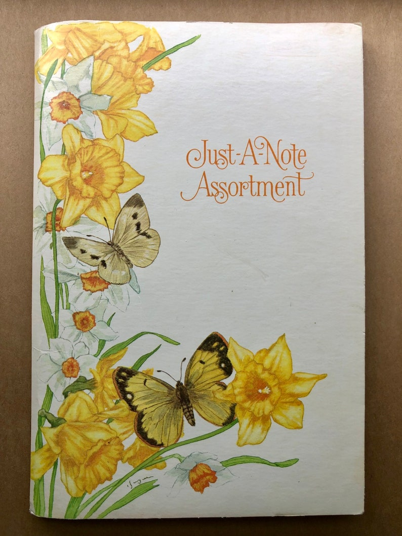 Vintage Assortment of Foldable Cards with Original Packaging  Snailmail Supplies