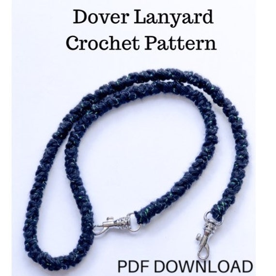 Pattern for Face Mask Lanyard / Necklace / Holder / Chain
