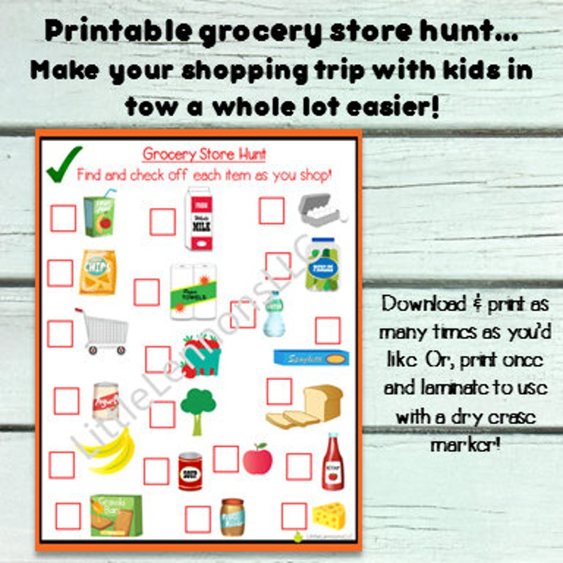 image regarding Printable Scavenger Hunt for Kids named Gorcery Browsing Hunt, children PDF, Printable, scavenger hunt, shop, young children printable, look for and identify, meals retailer, food stuff browsing