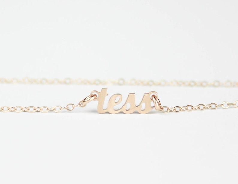 8bd2829c2925 Joyería de la placa de identificación nombre collar collar