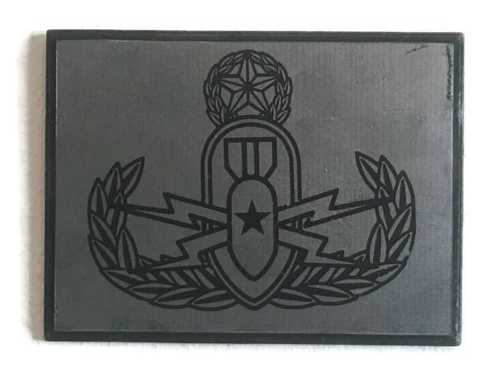Eod Sign Bomb Tech Home Decor Explosive Ordnance Army Eod Etsy