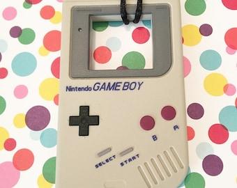 Game Boy Chew Stim Necklace