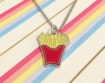French Fry Necklace