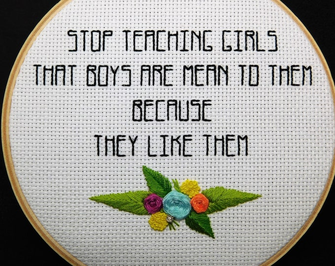 Stop Teaching Girls That Boys Are Mean To Them Because They Like Them