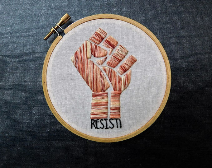 Resist Fist Stitch