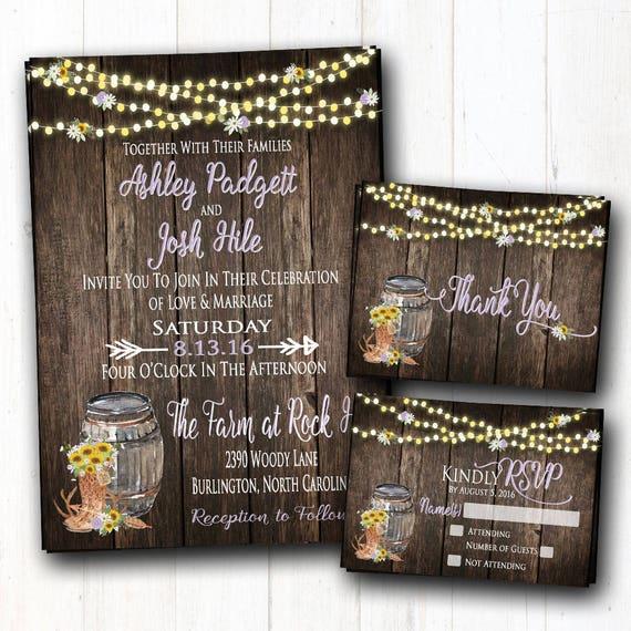 Cowgirl Stiefel Hochzeit Einladung Scheune Hochzeit Lila U0026