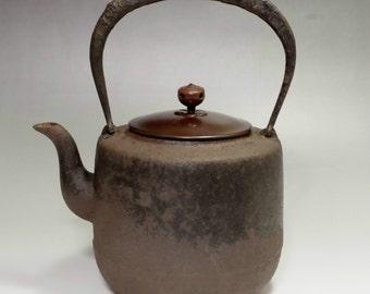 Nanbu Tetsubin - Japanese Iron Tea Kettle #2057