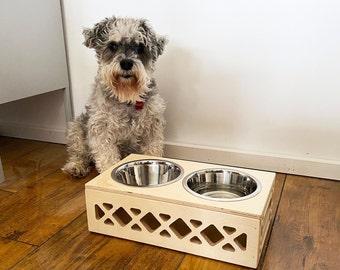 Mini Dog Bowl // Apple Crate Dog Bowl // Pet Dish