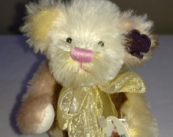 Bears Supply Annette Funicello Angel Collection Luna Ivory Plush Bear Street Price