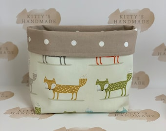 Fabric Basket, Fabric Storage Basket, Storage Basket, Baby Gift, Home Storage