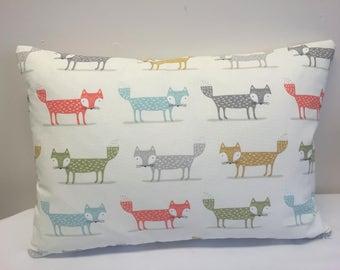 Fox, Cushion Cover, Fox Cushion Cover