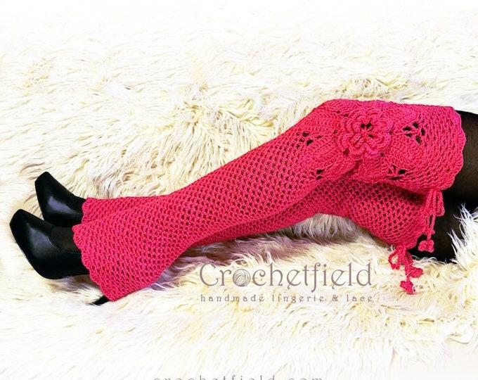 e8e0bb097 Leg warmers - Crochetfield - handmade lingerie   lace