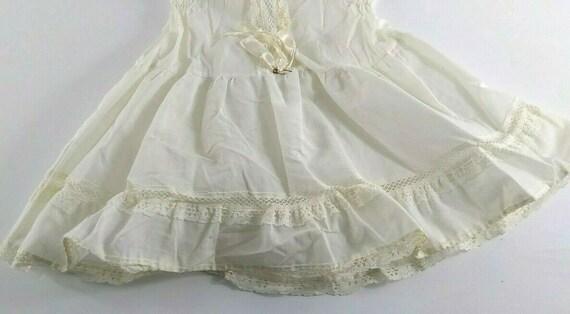 Vintage Girl Full Circle Petticoat Slip 6 Chemise… - image 2