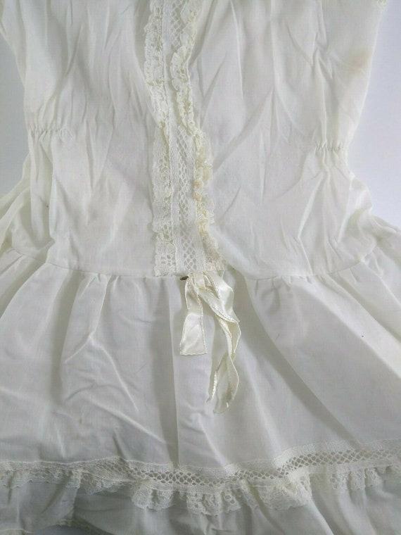 Vintage Girl Full Circle Petticoat Slip 6 Chemise… - image 5