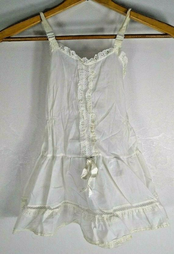 Vintage Girl Full Circle Petticoat Slip 6 Chemise… - image 1