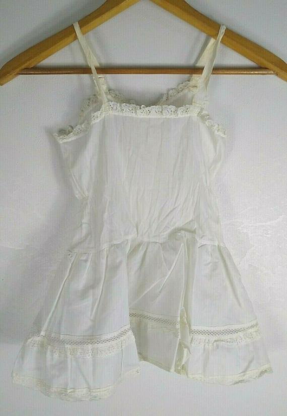 Vintage Girl Full Circle Petticoat Slip 6 Chemise… - image 8