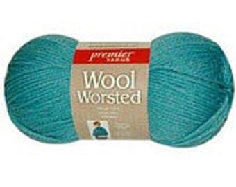 Yarn - Premier Worsted Wool - Kelly Green