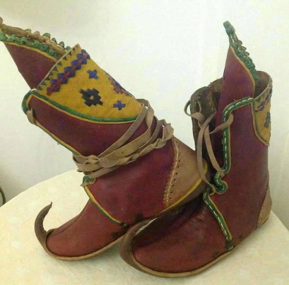 à Boot période Elven la médiévale chaussures Bottes Made botte médiévalhistoriques yéménitefée mainCustom chaussureschaussure Ottomanturc TJ3ul1FKc